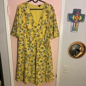 Torrid Floral Dress size 16